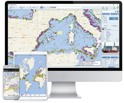 Vessel Tracking Software at Real Time by VT Explorer